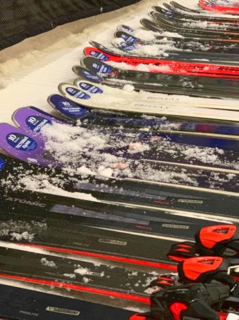 Тесты горных лыж 31 октября