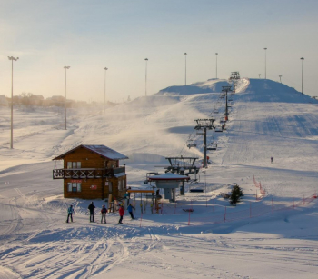 Тесты горных лыж 23.01.2020 в горнолыжном клубе им. Леонида Тягачёва в Шуколово.