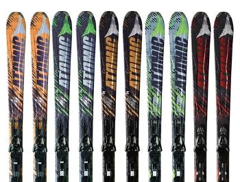 Atomic Nomad - Blackeye, Smoke, Colt. Тесты горных лыж сезона 2011/2012.
