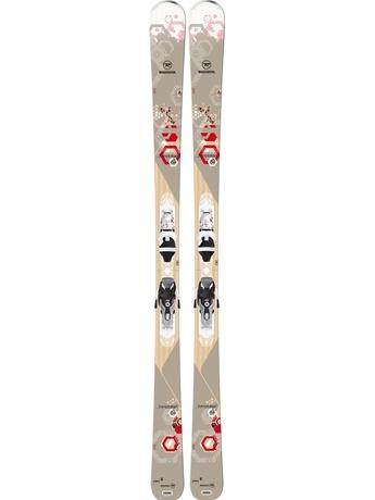 Горные лыжи Rossignol Temptation 84 + Xelium Saphir 110 14/15