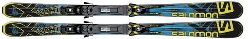 Горные лыжи Salomon 24 X-Kart Pro + Z10