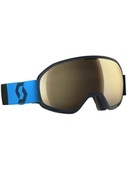 Маска Scott Unlimited II OTG Eclipse Blue / Light Sensitive Bronze Chrome