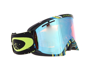 Маска Oakley 02 XL Stumped Lime Blue / H.I. Persimmon