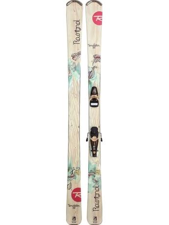 Горные лыжи с креплениями Rossignol Temptation 82 Open + Saphir 110L 11/12