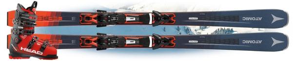 Горные лыжи Atomic Vantage 79 Ti с креплениями FT 12 GW + Head Advant Edge 105 (19/20)