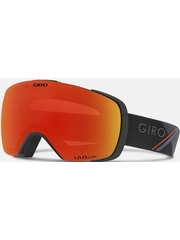 Маска Giro Contact Black / Red Sport Tech / Vivid Ember 37 + Vivid Infrared 62