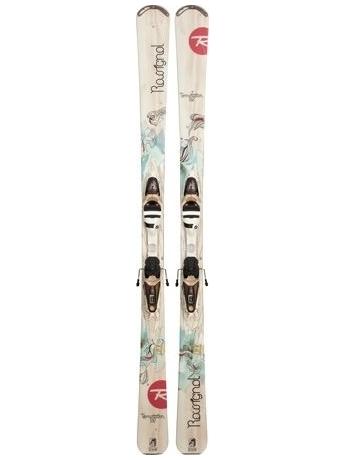 Горные лыжи с креплениями Rossignol Temptation 82 WTPI 2 + SAPHIR 110 L TPIDK Sand 12/13