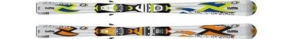 Горные лыжи Rossignol Zenith 1 Oversize + крепления AXIUM 100 TPI2 (07/08)