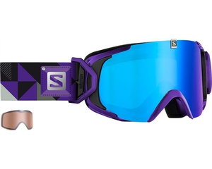 Маска Salomon XVIEW S Xtra L Purple / ML Blue Solar