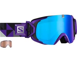 Маска Salomon XVIEW S Xtra L Purple / ML Blue Solar