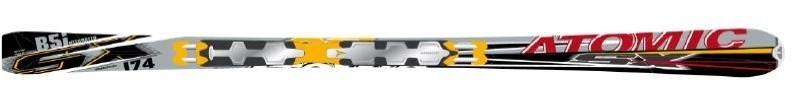 Горные лыжи Atomic SX B5i  + крепления Neox 412 76 ALU 2008 (07/08)