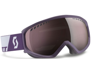 Маска Scott Faze White Purple / Silver Chrome