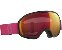 Маска Scott Unlimited II OTG Black/Berry Pink / Illuminator Red Chrome