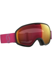 Маска Scott Unlimited II OTG Black/Berry Pink / Illuminator Red Chrome
