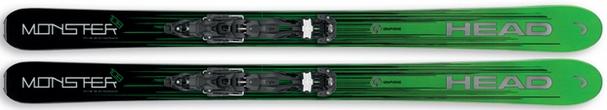Горные лыжи Head Monster 108 + крепления Attack2 13 (17/18)