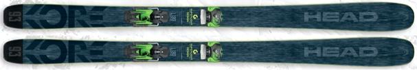 Горные лыжи Head Kore 93 + крепления Attack2 13 (17/18)