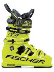 Горнолыжные ботинки Fischer RC4 Curv 120 Vacuum Full Fit Yellow (17/18)