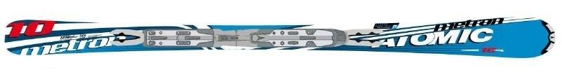 Горные лыжи Atomic Metron 10 ppl + крепления Neox 412 81 Alu 2008 (07/08)