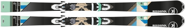 Горные лыжи Rossignol Unique 2 + крепления Xelium 100 (15/16)