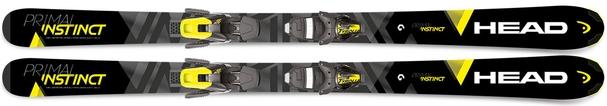 Горные лыжи Head Primal Instinct + крепления SLR 10 (17/18)