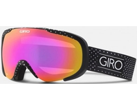 Маска Giro Field Black Mini Dots/ Amber Pink (15/16)
