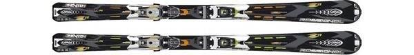 Горные лыжи Rossignol Zenith Z11 Mutix + крепления AXIAL 140 TPI2 MUTIX (07/08)