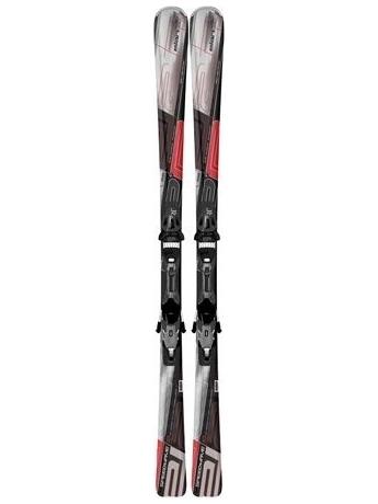 Горные лыжи с креплениями Elan Speedwave 10 Red QT + EL 10 12/13