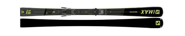 Горные лыжи Salomon S/Max 10 + крепления M11 GW L80 21/22 (20/21)