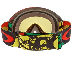 Маска Oakley 02 XL Burned Out Rasta / Fire Iridium