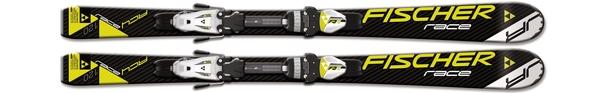 Горные лыжи Fischer RC4 Race Jr + крепления FJ4 AC (14/15)