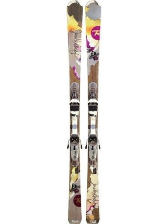 Горные лыжи с креплениями Rossignol Attraxion 3 Echo + Saphir 110S TPI2 11/12