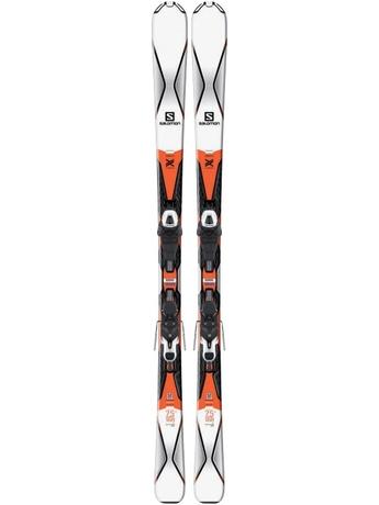 Горные лыжи Salomon X-Drive 7.5 R + крепления Lithium 10 16/17