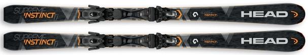 Горные лыжи Head Supreme Instinct Ti + крепления PR 11 (17/18)