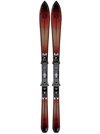 Горные лыжи Salomon BBR 8.0 + крепления KZ10 13/14