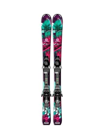 Горные лыжи Salomon Q-Lux Jr S + EZY5 14/15
