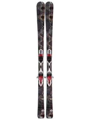 Горные лыжи с креплениями Rossignol Attraxion 3 S Echo W + Xelium SAPHIR 110 S Black Red 12/13