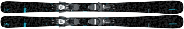 Горные лыжи Elan Black Perla LS + крепления EL 7.5 (16/17)