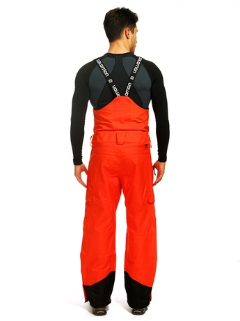 Брюки Salomon Foresight BIB Pant M Orange Glow