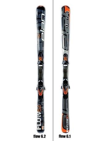 Горнные лыжи Elan Flow 6 TMD + крепления EL 10 TMD 07/08 07/08