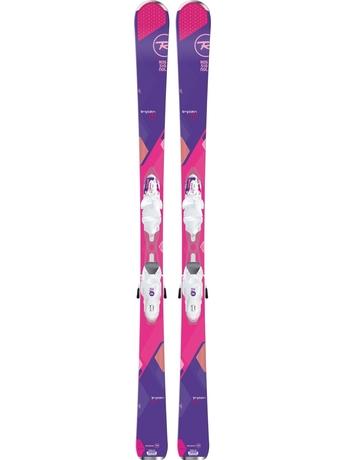 Горные лыжи Rossignol Temptation 80 + Xelium Saphir 110 15/16