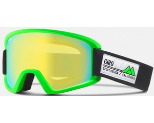 Маска Giro Semi Bright Green Frame Pop / Loden Yellow + Yellow