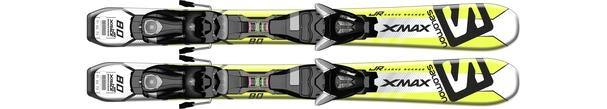Горные лыжи Salomon X-Max Jr XS + крепления EZY5 (15/16)