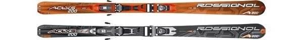 Горные лыжи Rossignol Actys 200 + крепления AXIUM 100 TPI2 (07/08)