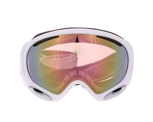 Маска Oakley A-Frame 2.0 Polished White / VR50 Pink Iridium