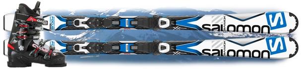 Горнолыжный комплект Salomon X-Drive Focus + крепления Lithium 10 + Head FX ST