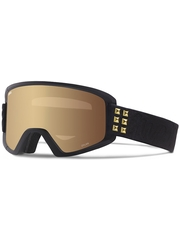 Маска Giro Dylan Black / Gold Stud / Amber Gold 23 + Yellow 84