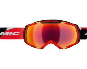 Маска Atomic Revel 3 M Racing Red / Red Lens + Orange Lens