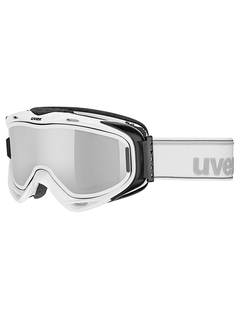 Маска Uvex G.Gl 300 TO White / Mirror Silver Lasergold Lite Clear