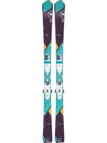 Горные лыжи Rossignol Temptation 77 + Xelium Saphir 110 15/16