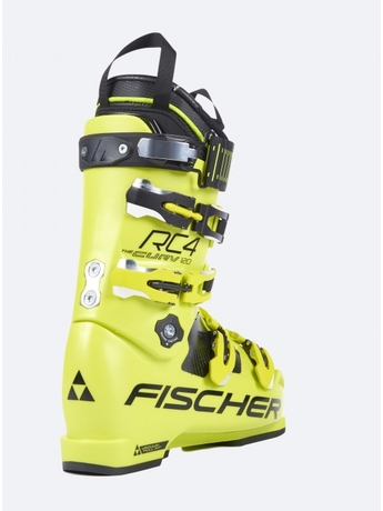Горнолыжные ботинки Fischer RC4 Curv 120 Vacuum Full Fit Yellow 17/18